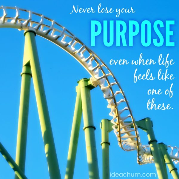 lose your purpose in life